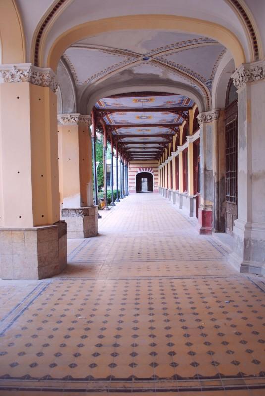 Baile-Herculane-Coridor-Cladirea-Cazinoului