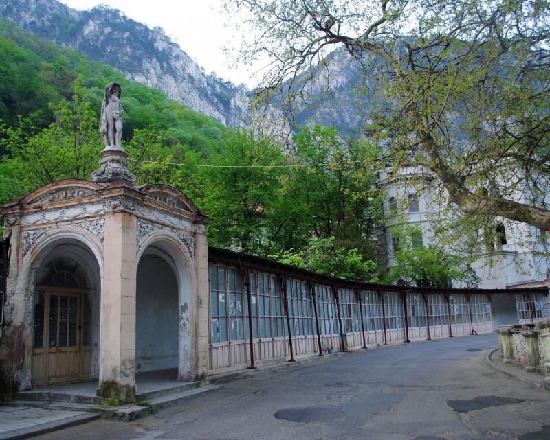 Baile-Herculane-Statuia Dianei