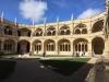 Manastirea Jeronimos - curte interioara